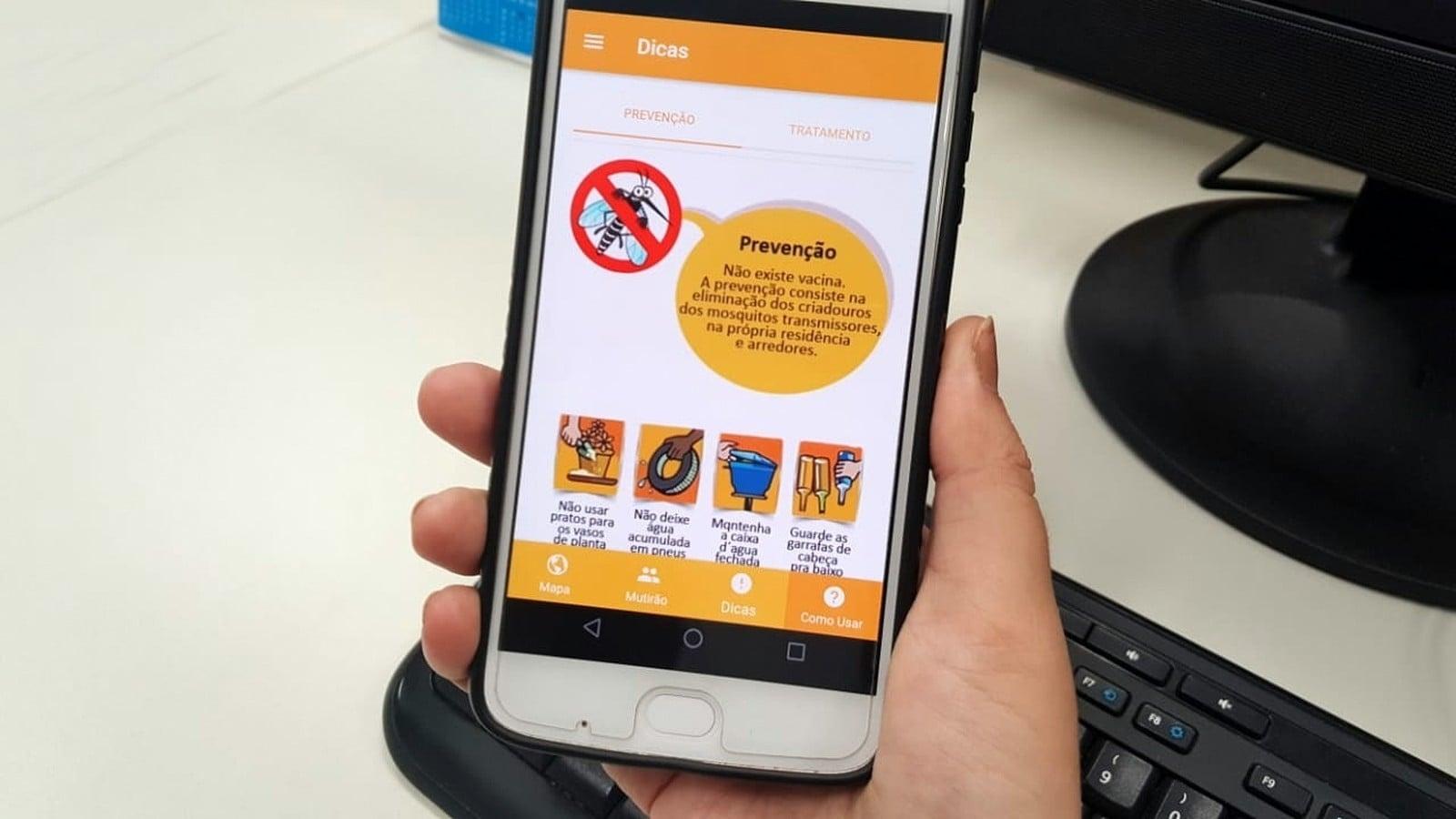 Aplicativo ajuda a mapear casos de dengue em Araraquara