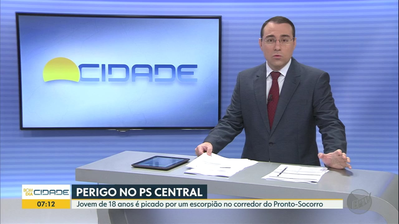 Jovem é picado por escorpião dentro do pronto-socorro central de Ribeirão Preto, SP