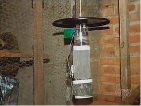 Armadilha de captura de mosquitos vivos